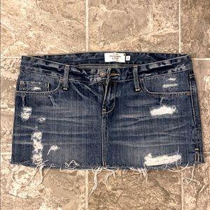 A&F//denim skirt